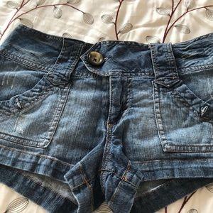 Mission denim jean shorts